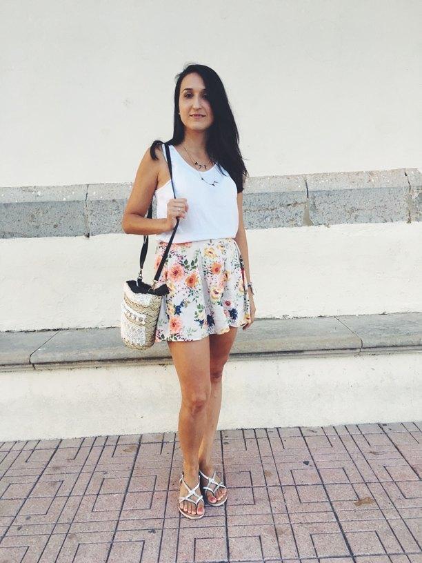 marikowskaya street style anna shorts flores (6)