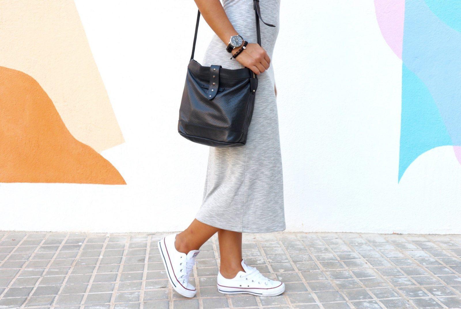 marikowskaya street style reyes vestido gris (5)