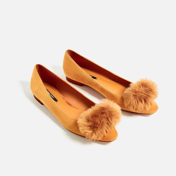 Zapato mostaza Zara