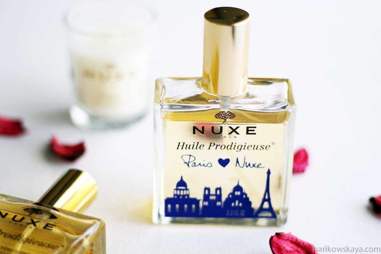 descubrimientos 2016 cosmética - nuxe huile prodigeuse