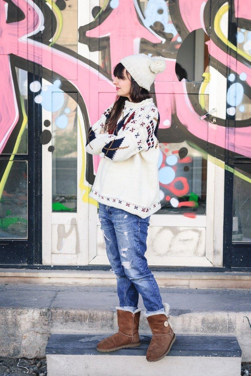 marikowskaya street style amparo jersey rombos (4)