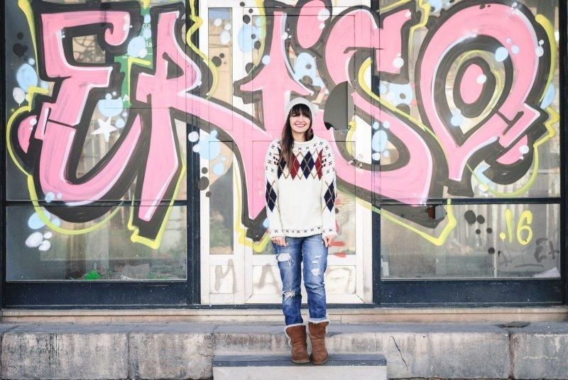 marikowskaya street style amparo jersey rombos (8)