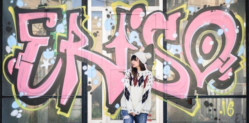 marikowskaya street style amparo jersey rombos (9)