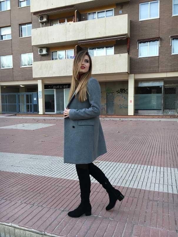 marikowskaya street style andrea botas altas negras (1)