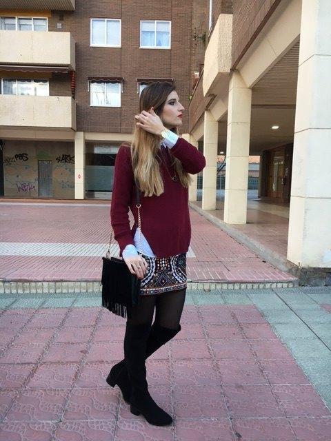 marikowskaya street style falda étnica (5)