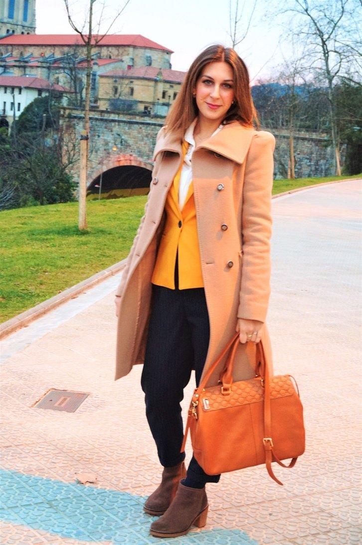 marikowskaya street style lorena blazer mostaza (2)