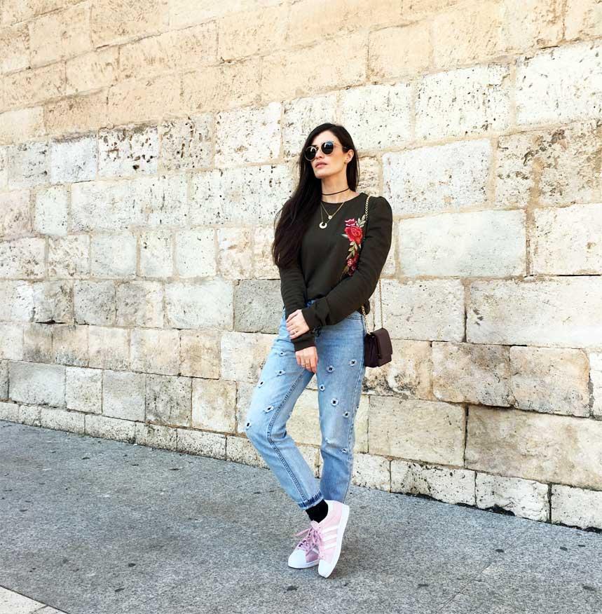 marikowskaya street style mom jeans 4