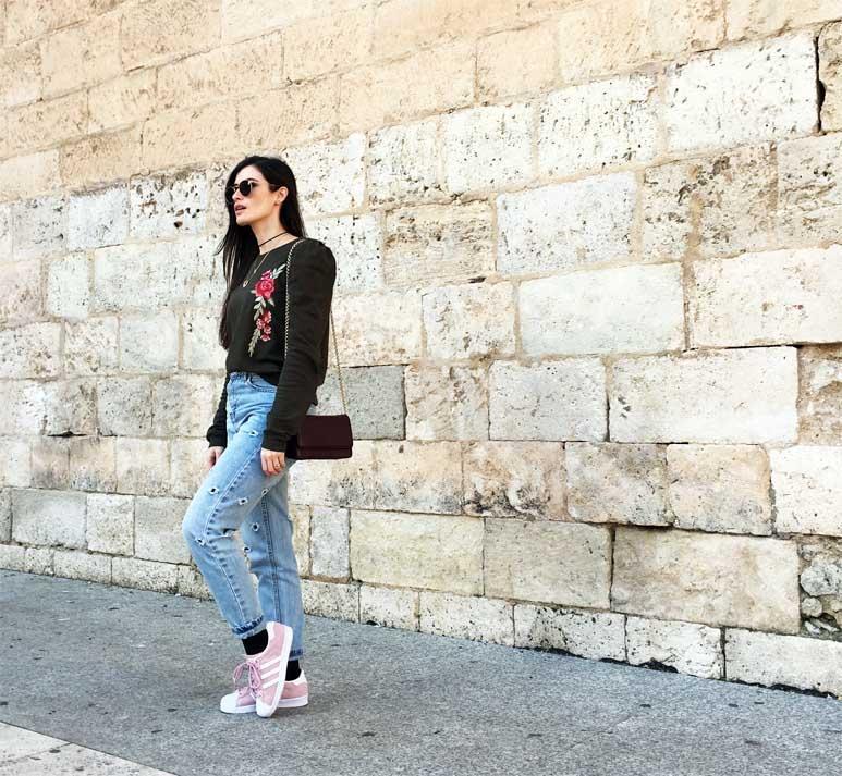 marikowskaya street style mom jeans 5