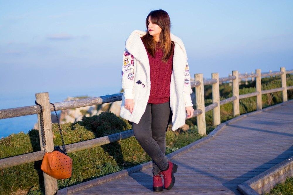 marikowskaya street style alba abrigo blanco (3)