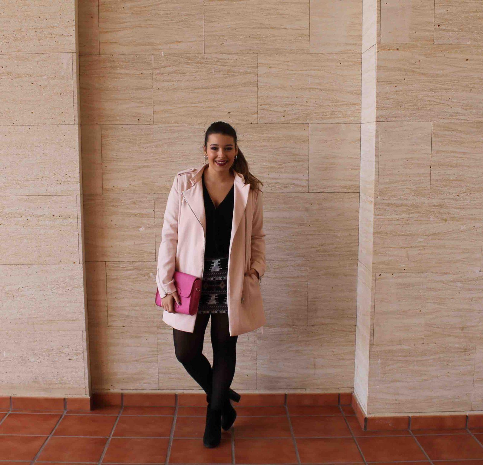 marikowskaya street style amanda abrigo rosa (1)