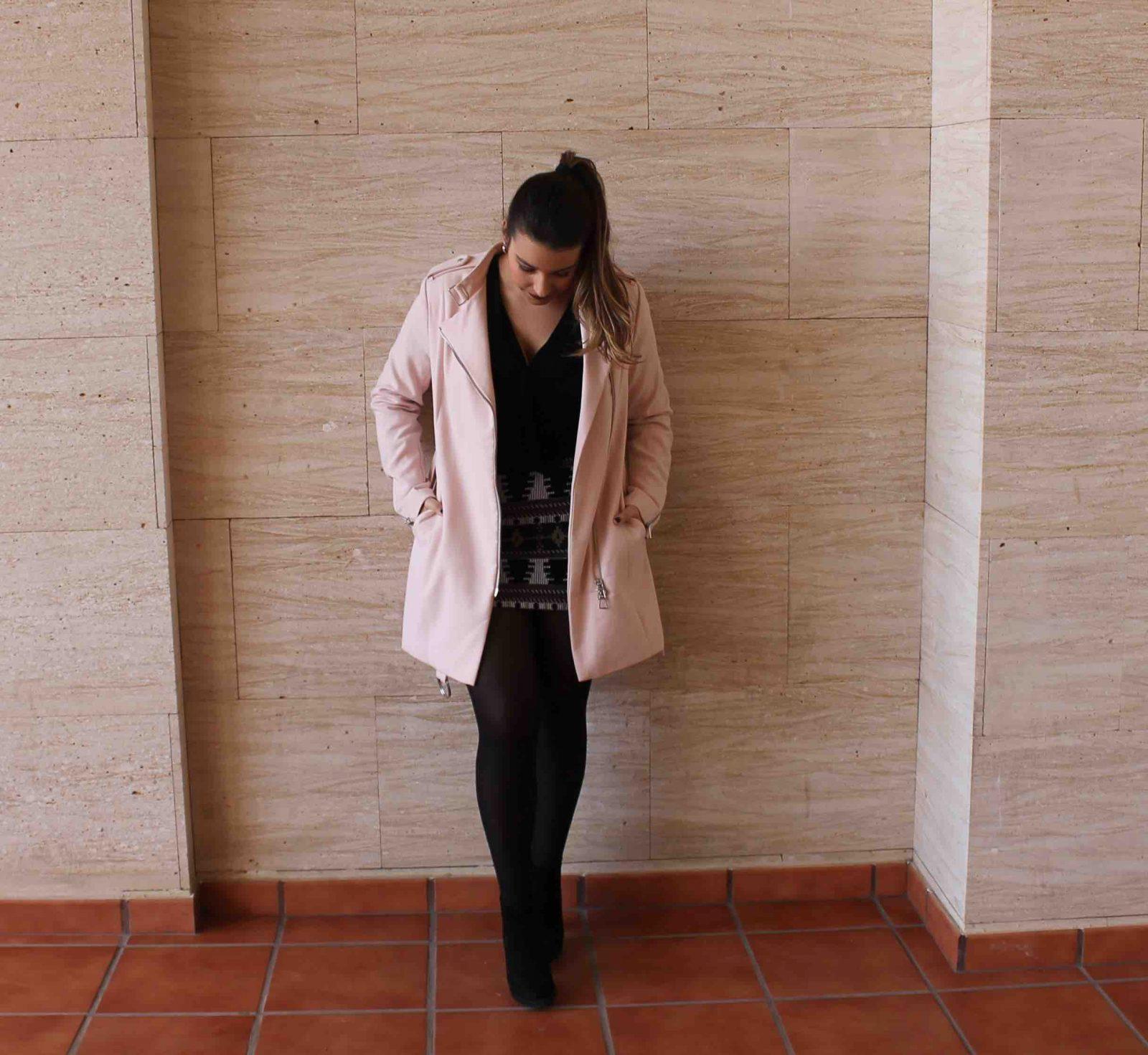 marikowskaya street style amanda abrigo rosa (8)