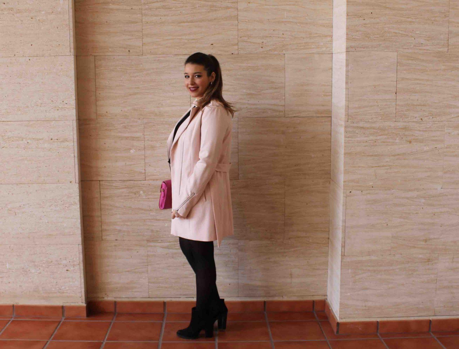 marikowskaya street style amanda abrigo rosa (9)