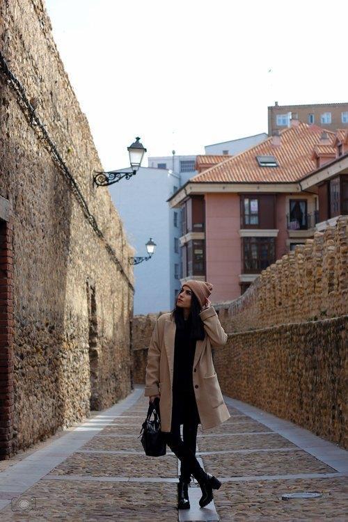 marikowskaya street style lu gorro lana (3)