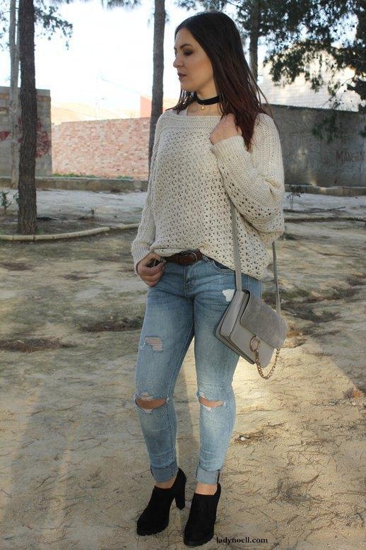 marikowskaya street style noelia ripped jeans (4)