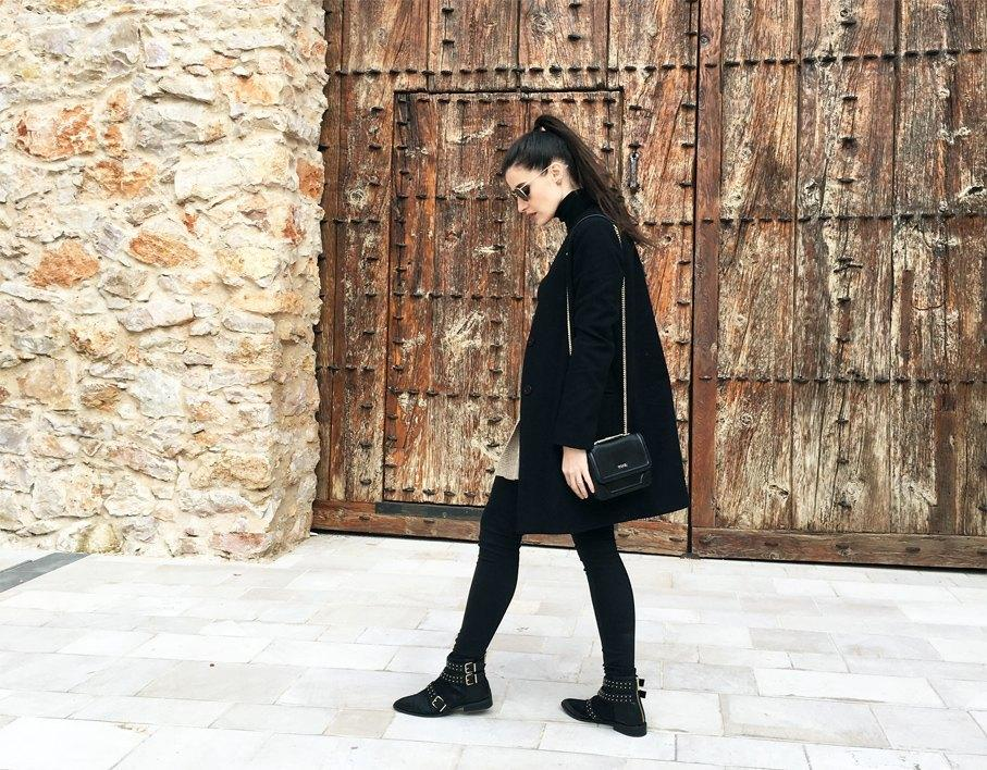 marikowskaya street style total black 6