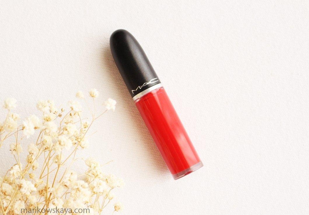 decepciones - mac cosmetics retro matte liquid lipstick 2