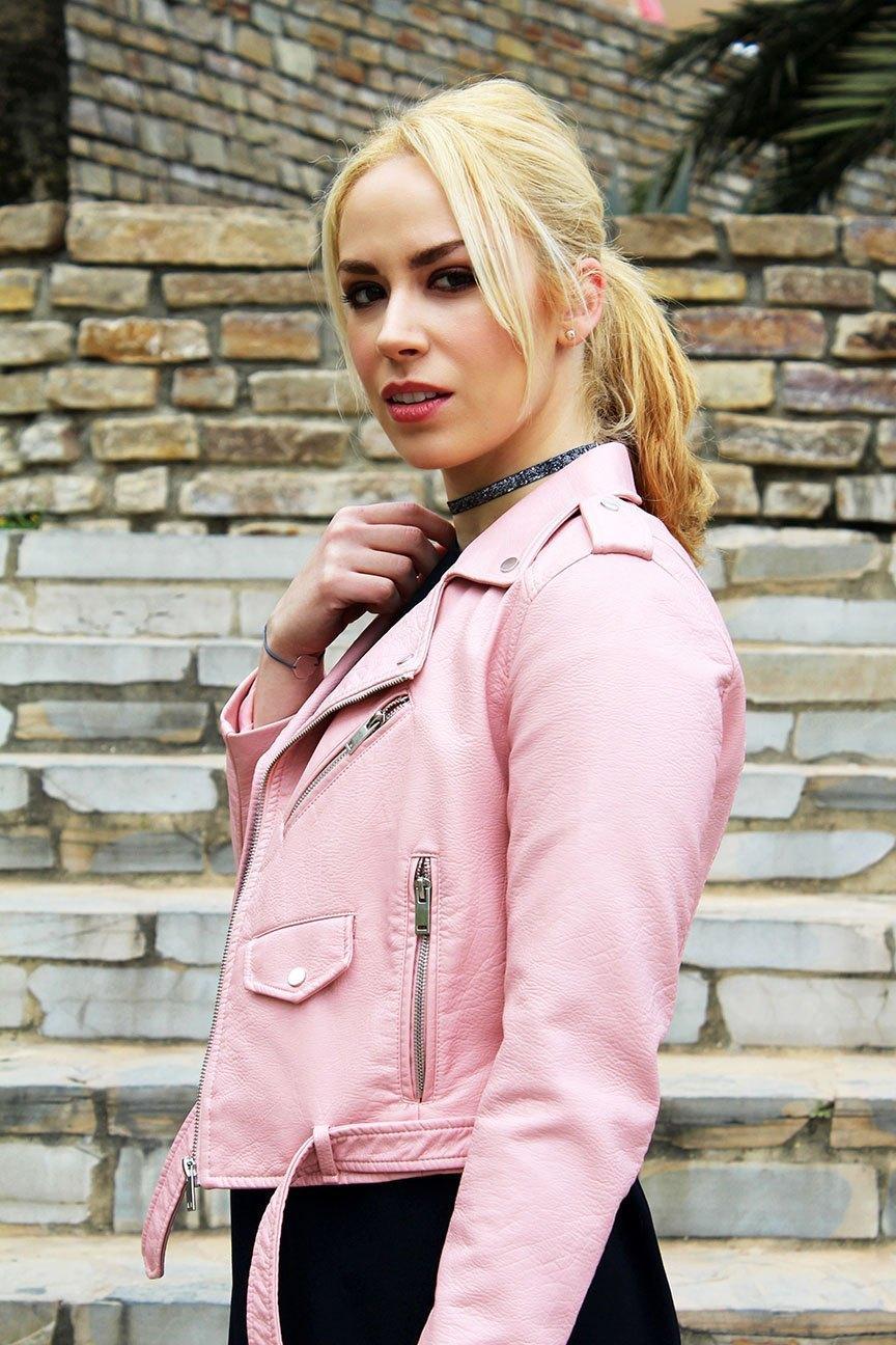 marikowskaya street style patri biker rosa (8)