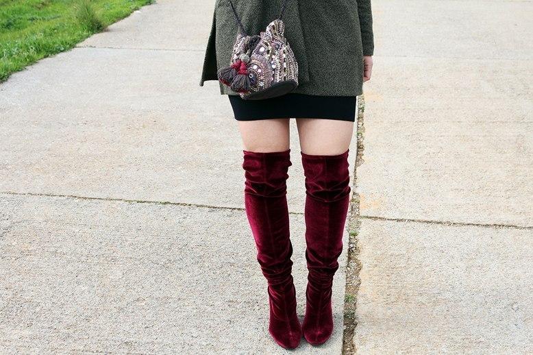 marikowskaya street style patripaan botas terciopelo rojo (1)