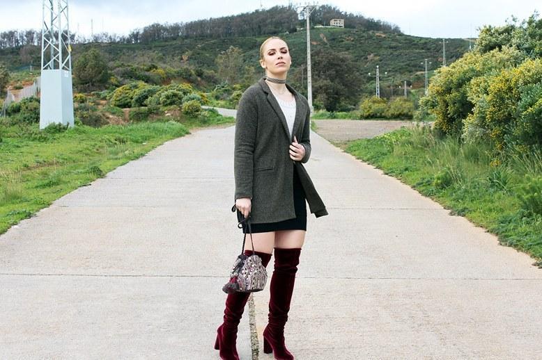 marikowskaya street style patripaan botas terciopelo rojo (10)