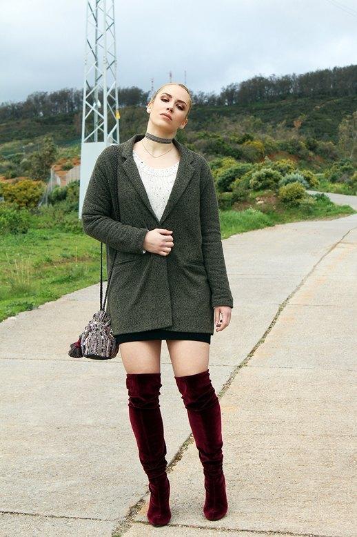 marikowskaya street style patripaan botas terciopelo rojo (5)
