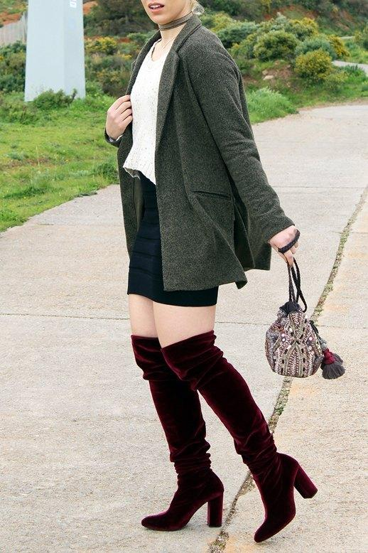 marikowskaya street style patripaan botas terciopelo rojo (6)