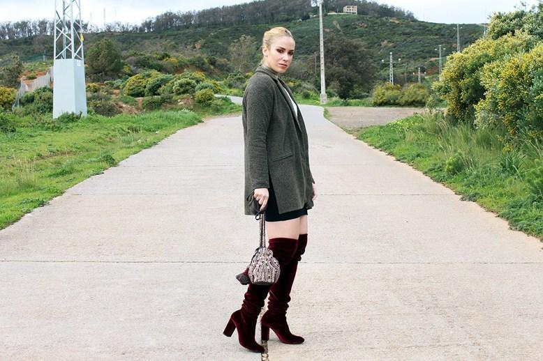 marikowskaya street style patripaan botas terciopelo rojo (9)
