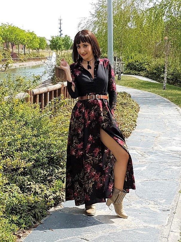 marikowksaya street style el rincón de ro vestido flores (5)