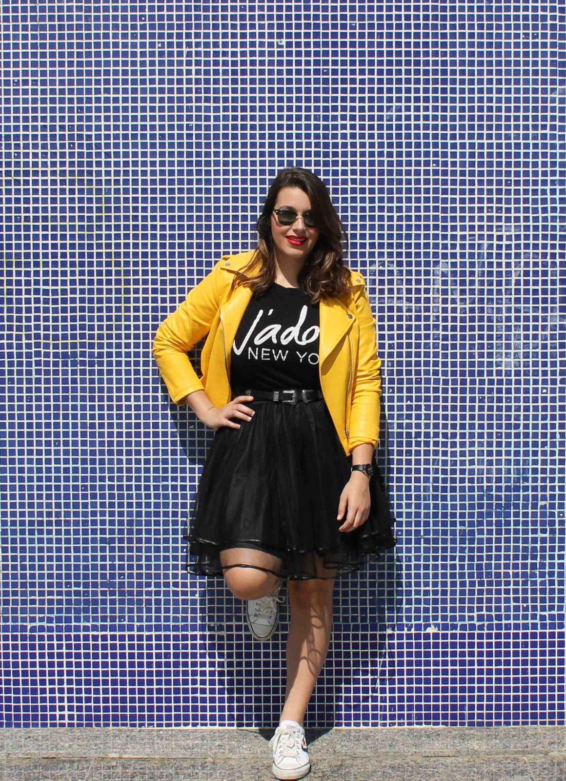marikowskaya street style amanda chaqueta amarilla zara (6)