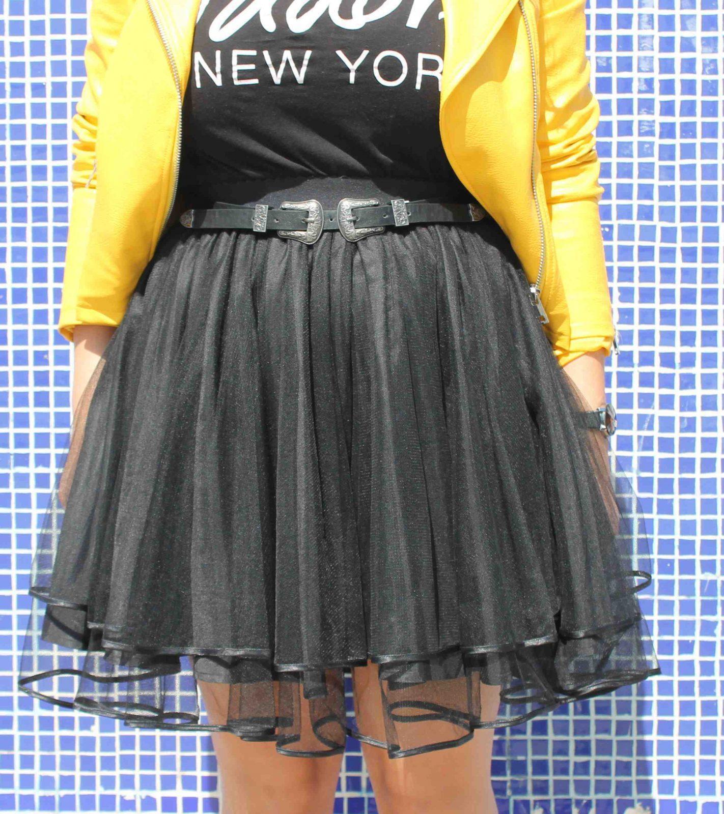 marikowskaya street style amanda chaqueta amarilla zara (7)