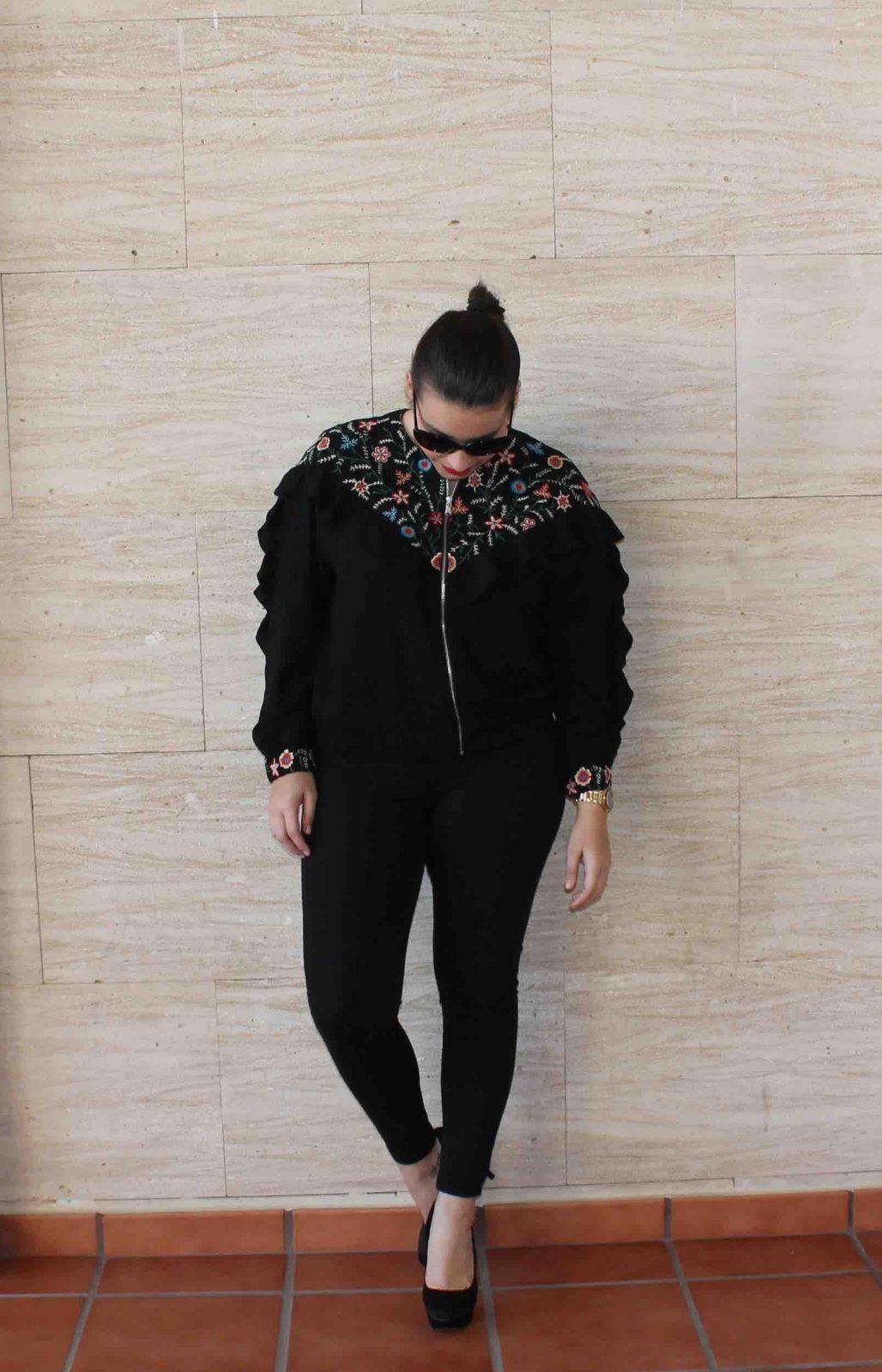 marikowskaya street style amanda total black (3)