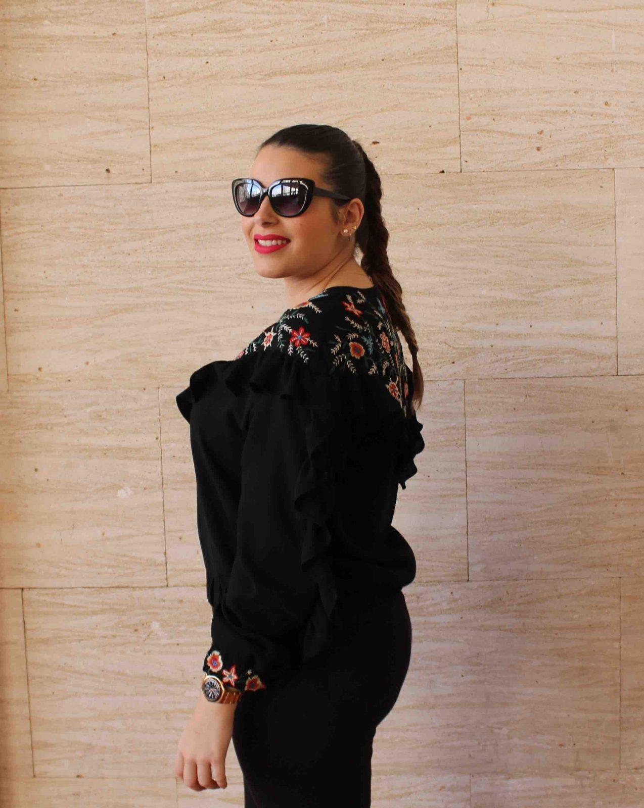 marikowskaya street style amanda total black (5)