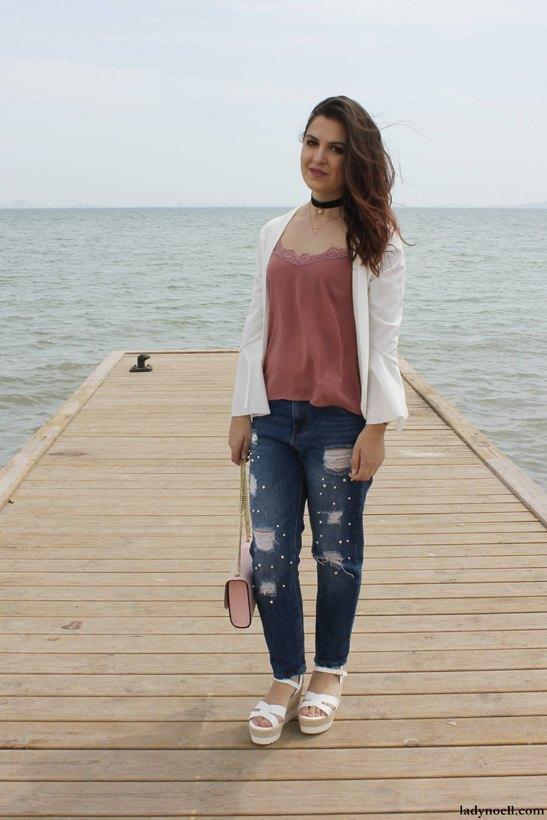 marikowskaya street style ladynoell ripped jeans (1)