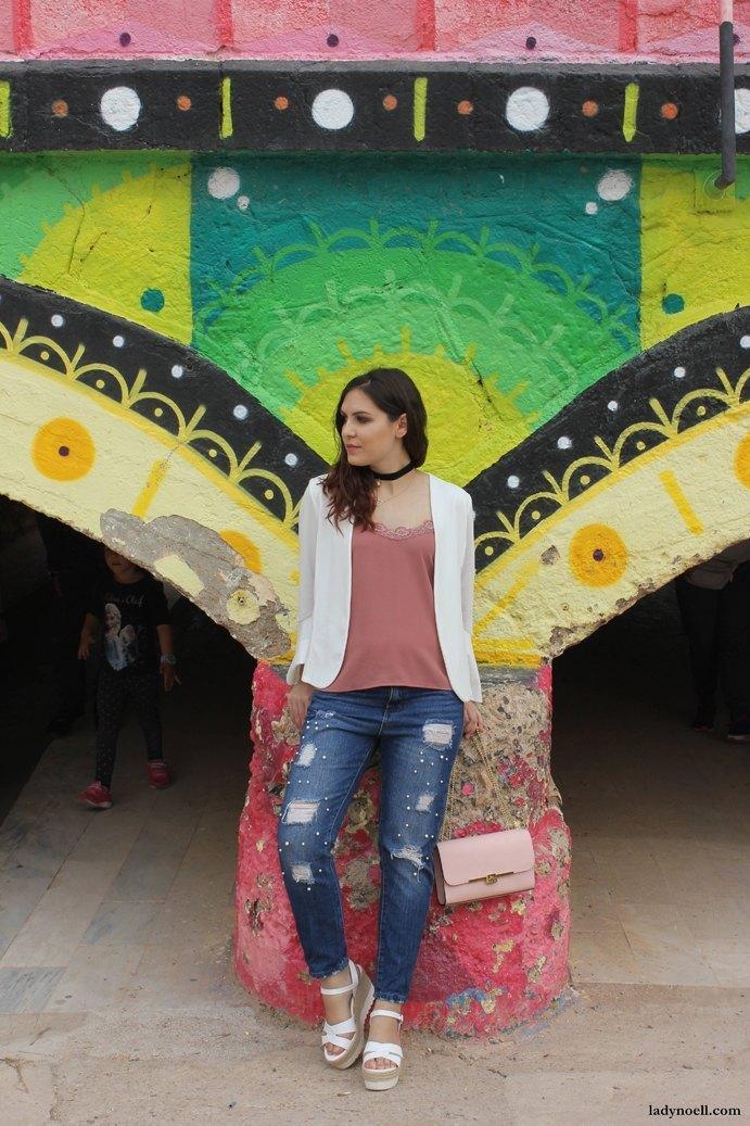 marikowskaya street style ladynoell ripped jeans (2)