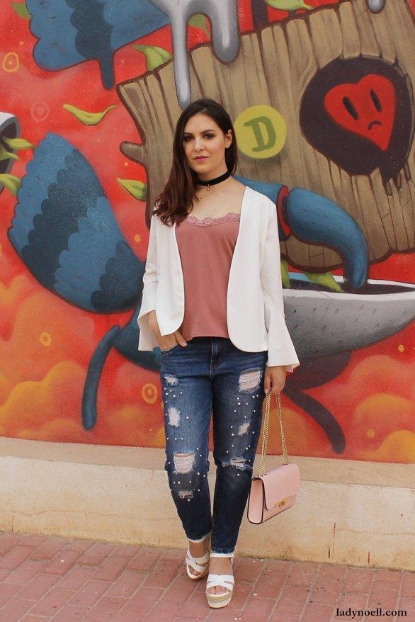 marikowskaya street style ladynoell ripped jeans (3)