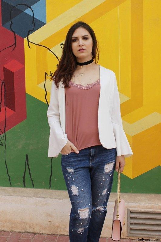 marikowskaya street style ladynoell ripped jeans (5)