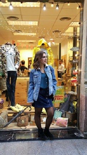 marikowskaya street style lorena falda vaquera (1)