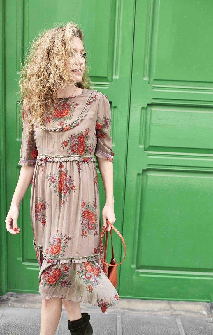 marikowskaya street style maría vestido fluido (2)