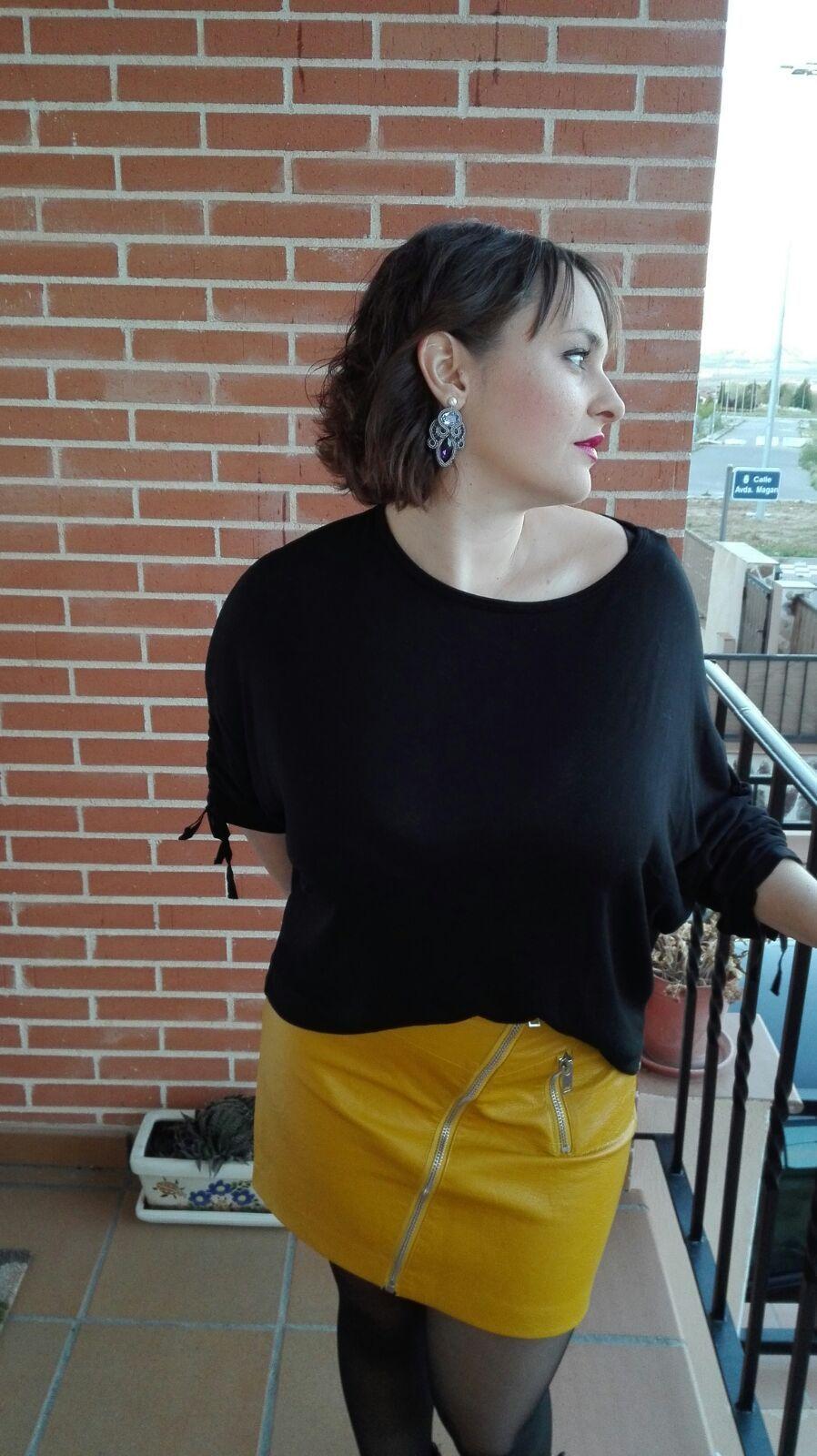 marikowskaya street style mariajo falda amarilla (3)