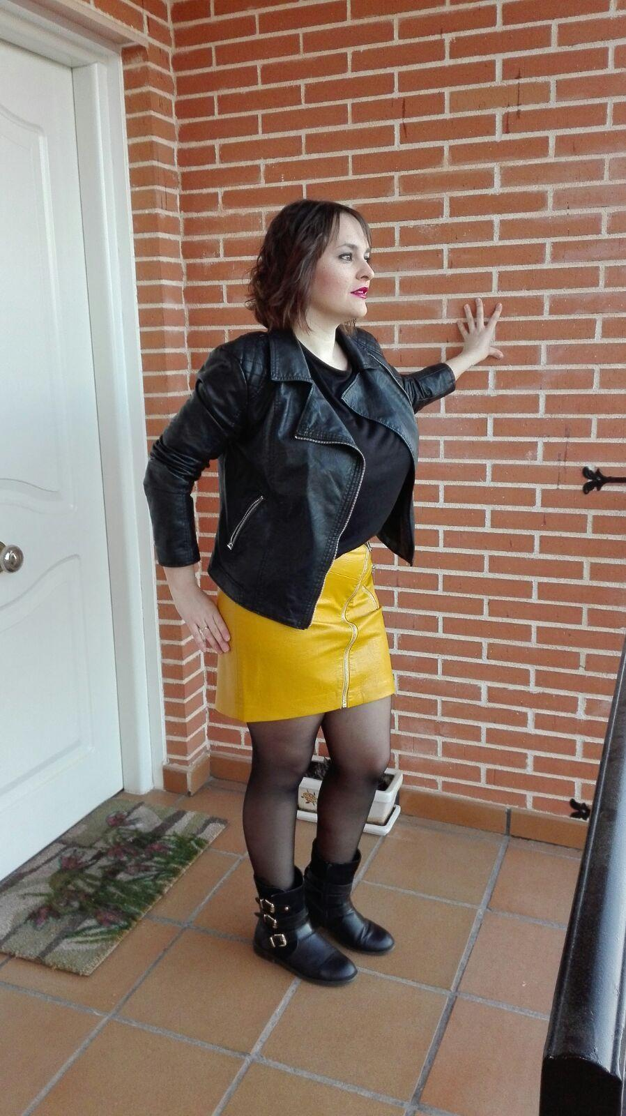 marikowskaya street style mariajo falda amarilla (4)