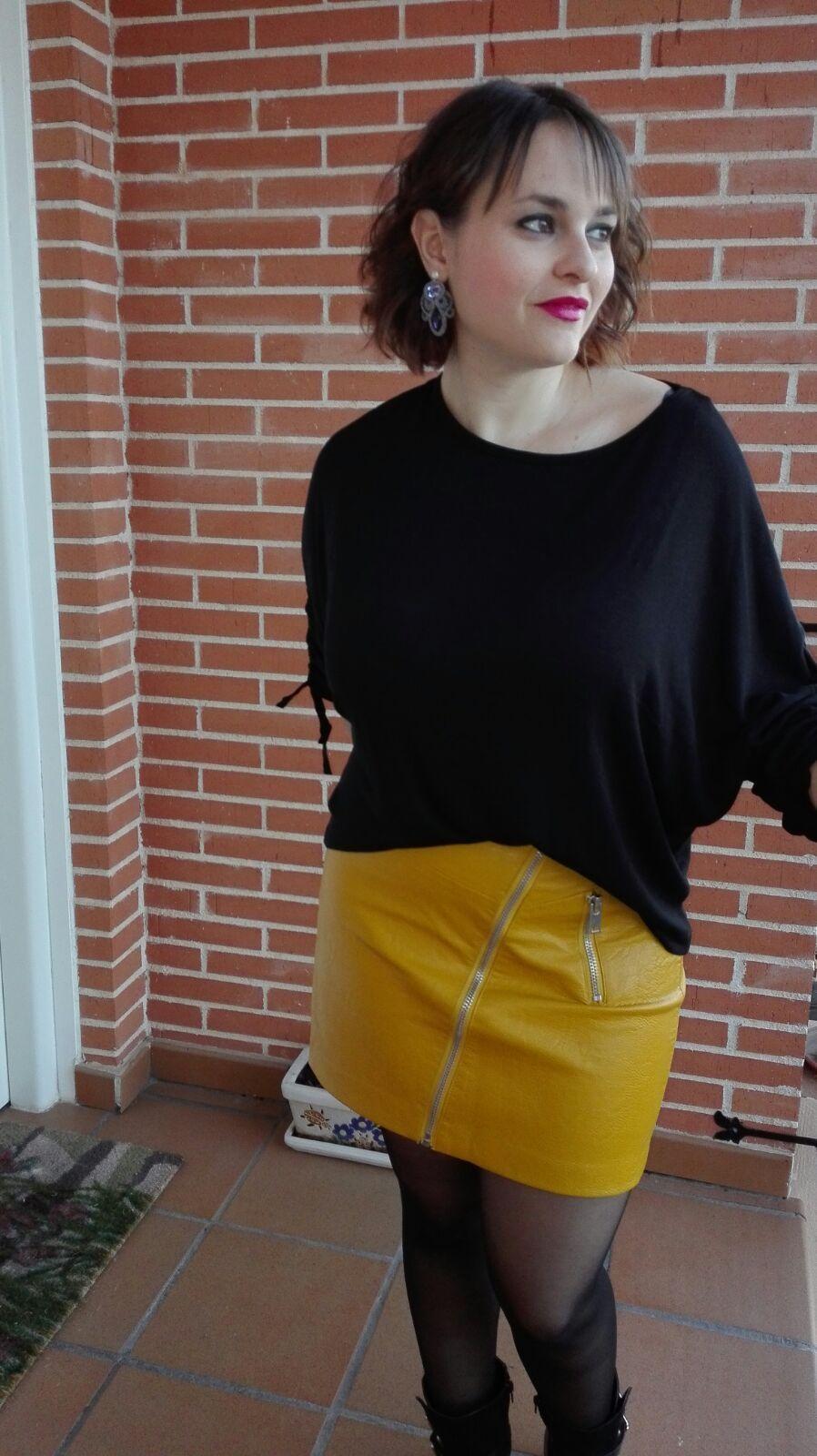 marikowskaya street style mariajo falda amarilla (5)