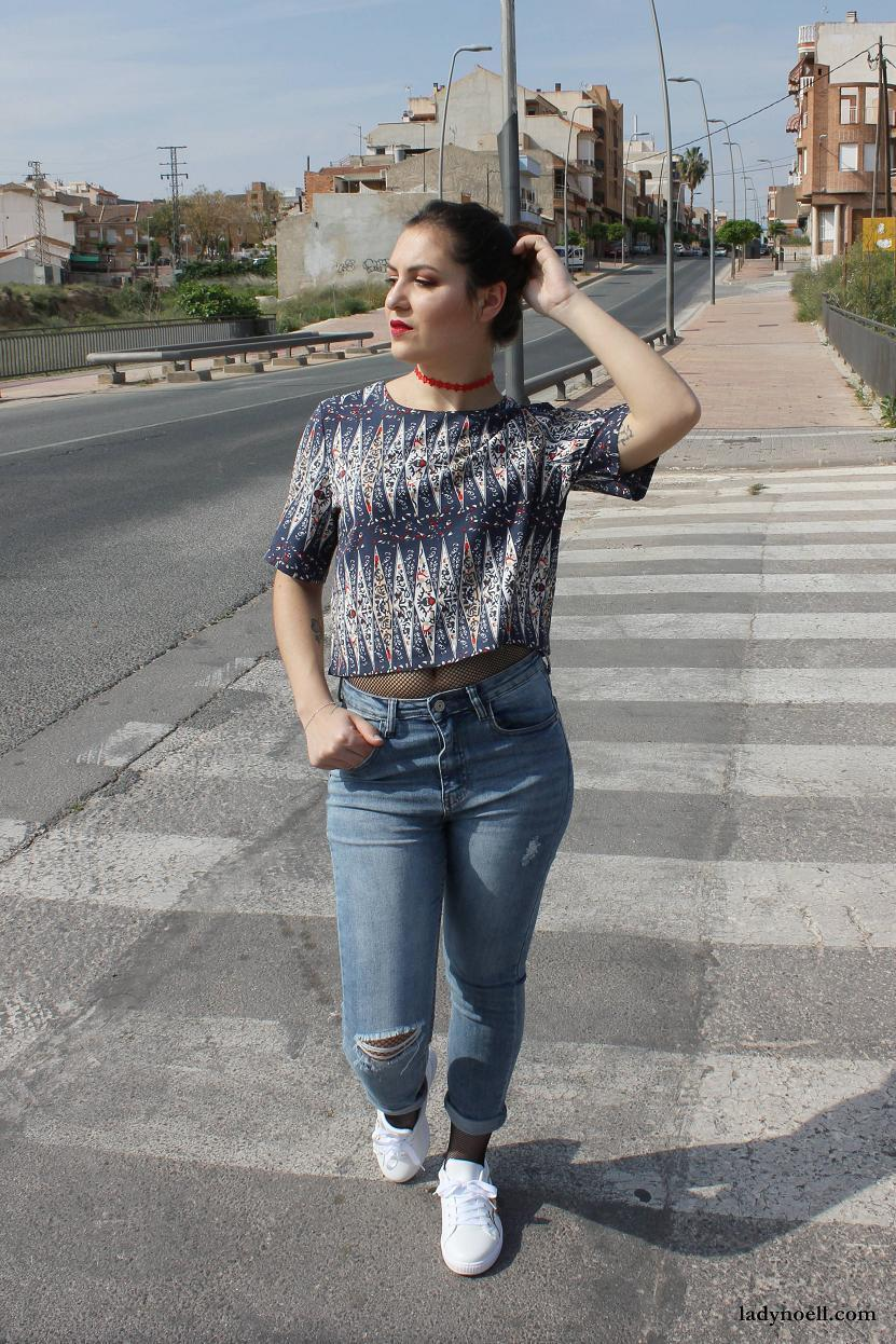 marikowskaya street style noelia jeans (1)