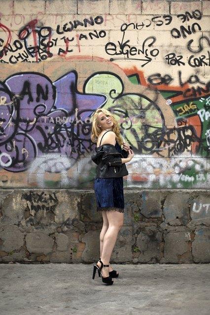 marikowskaya street style patri vestido azul (7)