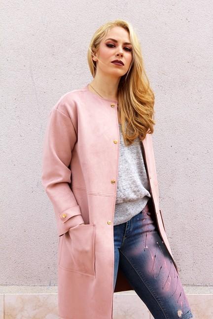 marikowskaya street style patripaan abrigo rosa (4)
