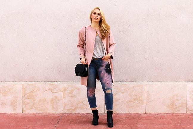 marikowskaya street style patripaan abrigo rosa (9)