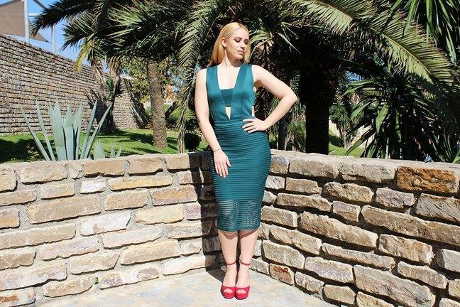 marikowskaya street style patripaan vestido verde (1)