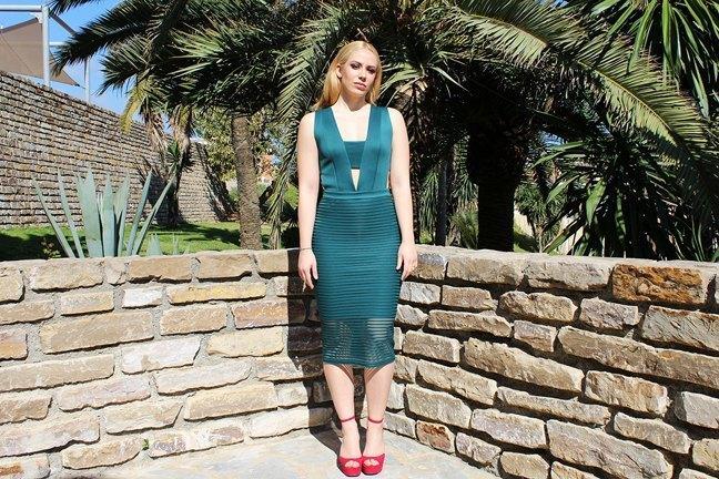 marikowskaya street style patripaan vestido verde (10)