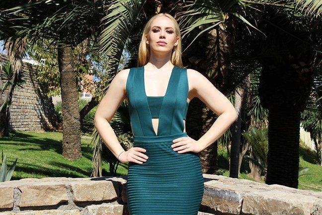 marikowskaya street style patripaan vestido verde (3)