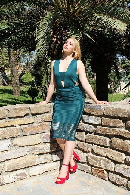 marikowskaya street style patripaan vestido verde (5)