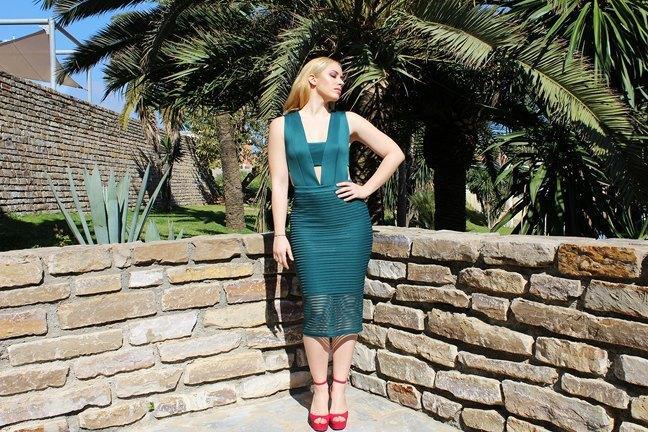 marikowskaya street style patripaan vestido verde (7)