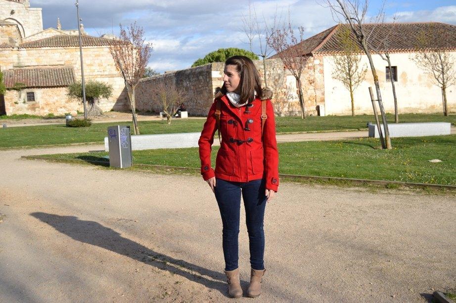 marikowskaya stret style feli chaqueta roja (5)